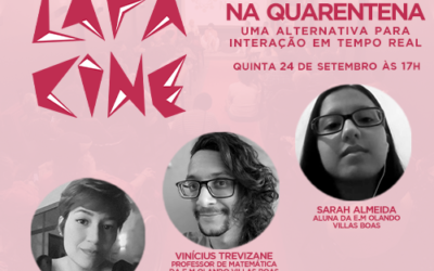 LIVE – Lapa Cine – Jogos on-line na quarentena: Uma alternativa para interação em tempo real