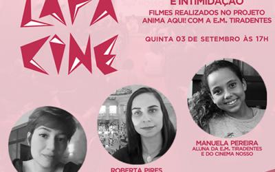 Lapa Cine – Caos, Casa Assombrada e Intimidação – E.M. Tiradentes