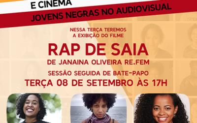 LIVE – Empoderamento e Cinema – Rap de Saia