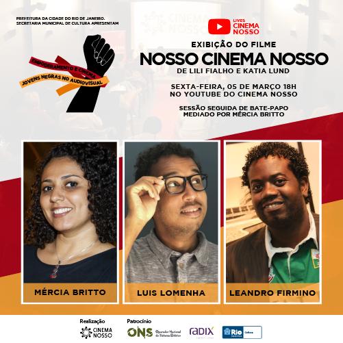 LIVE – Empoderamento e Cinema – Nosso Cinema Nosso